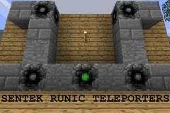 古代传送点Sentek Runic Teleporters Mod 1.11.2/1.10.2/1.9