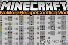 合成冲突消除器NoMoreRecipeConflict Mod