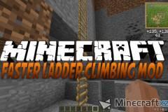 更快的梯形攀岩Mod Faster Ladder Climbing Mod