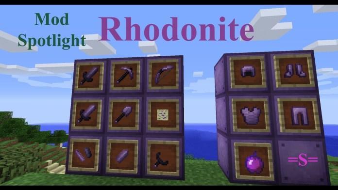 rhodonite tools armor mod 3